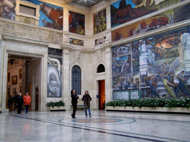 Detroit is always present interview with dolores slowinski for Diego rivera mural detroit institute of arts