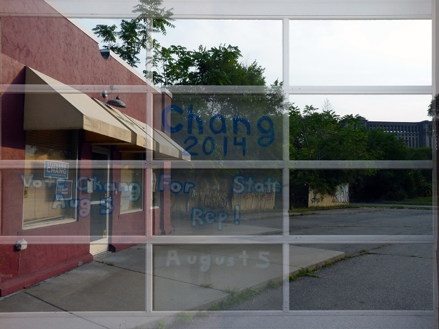 Stephanie Chang campaign office in Southwest Detroit 10 August 2014